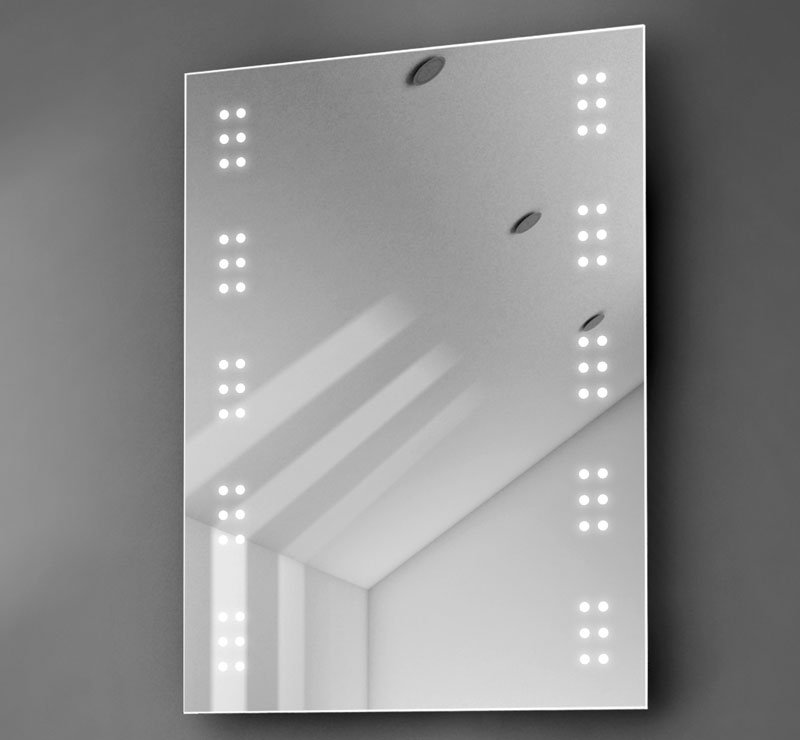 50 cm brede led spiegel voor in het toilet of de badkamer