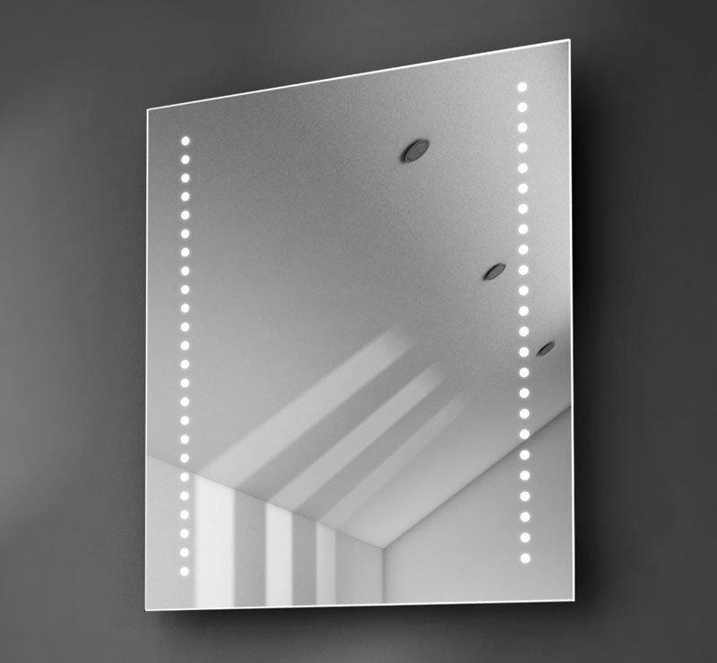 50 cm badkamer of toiletspiegel met led lampen