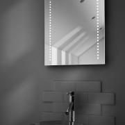 50 cm toiletspiegel met ingebouwd muzieksysteem