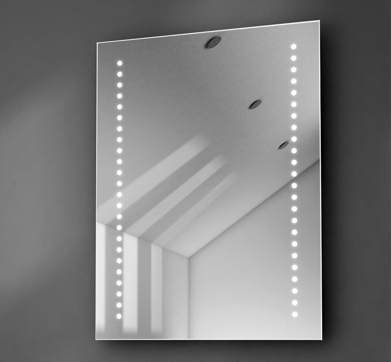 60 cm badkamerspiegel met verlichting