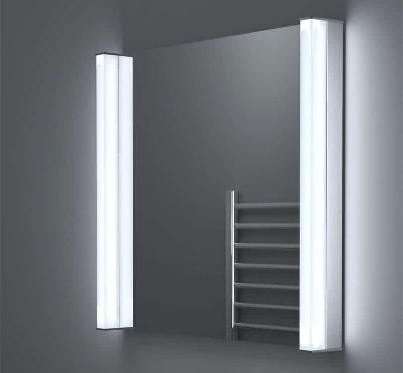Spiegel met led verlichting gratis levering for Spiegel 60x60