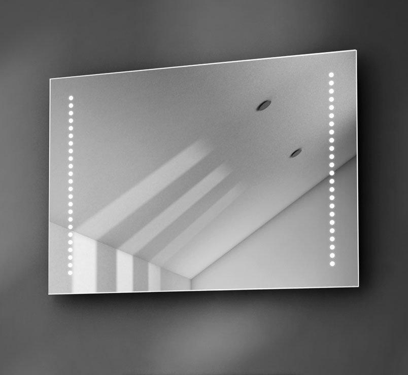 70 cm LED spiegel met 50W speakers en Bluetooth muzieksysteem