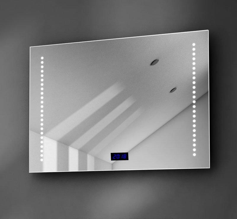 70 cm badkamer spiegel met klok