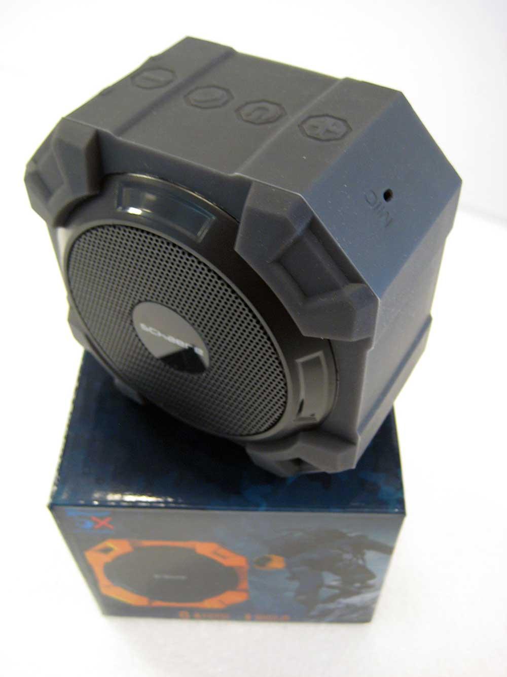 De perfecte Bluetooth badkamer speaker met stereo speakers ...