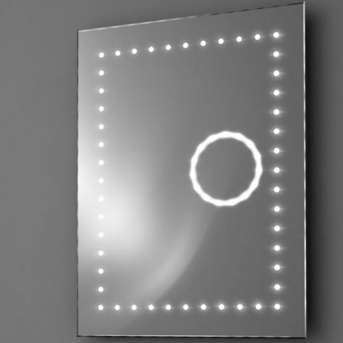 Badkamer spiegel met vergrootspiegel