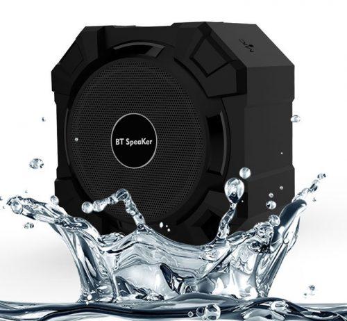 Bluetooth speaker voor de badkamer