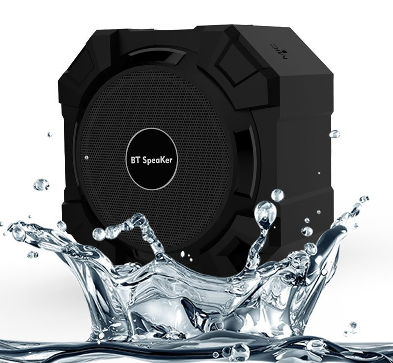 De perfecte Bluetooth badkamer speaker met stereo speakers ...
