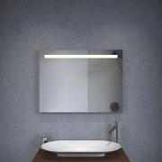 80 cm brede led spiegel met verwarming