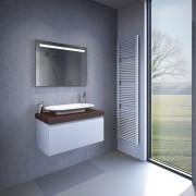 Design badkamer spiegel 80x60x3 cm