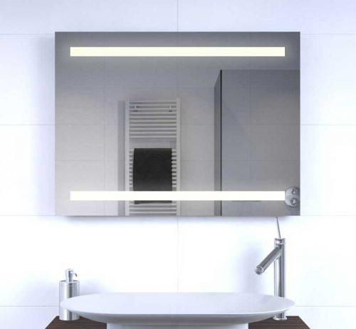 Horizontale spiegel met hoge lichtopbrengst