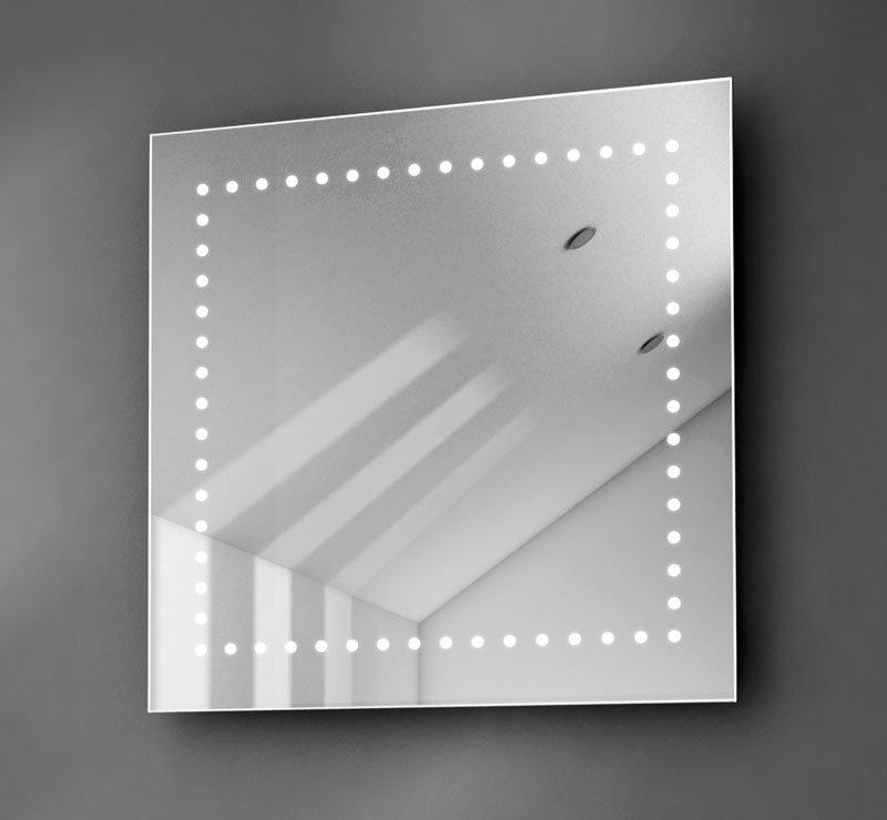 LED spiegel vierkant 60 cm