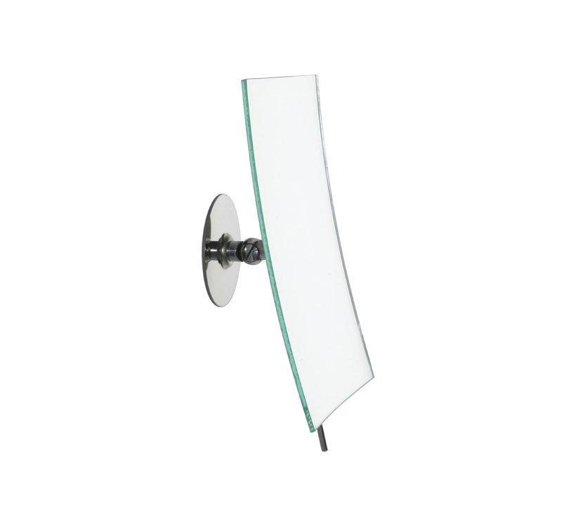 Handgemaakte rechthoekige makeup spiegel 3x vergrotend designspiegels badkamerspiegel op voet - Ontwerp entree spiegel ...