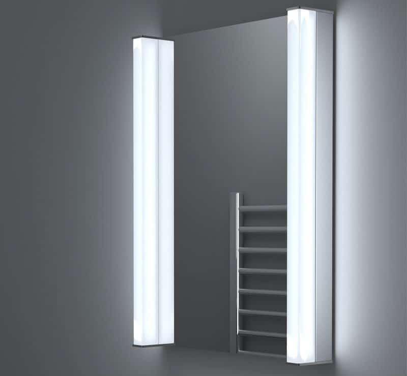 Spiegel met hoge lichtopbrengst