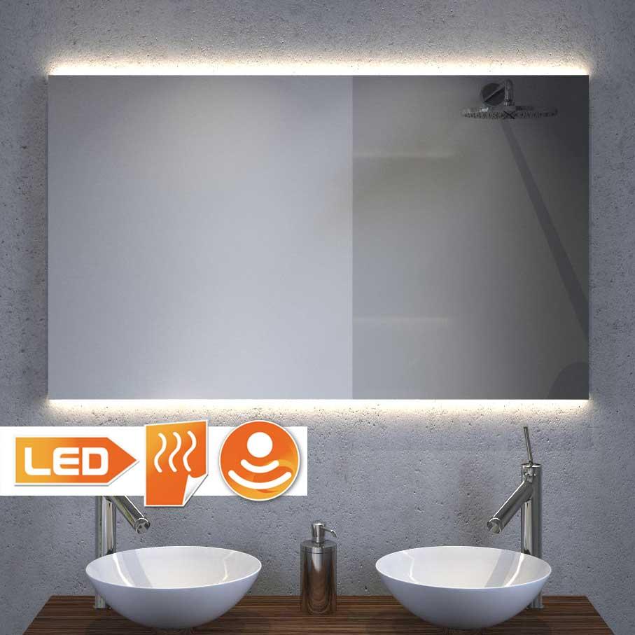 Spiegel Met Led Verlichting Gratis Levering: badkamerspiegel met led verlichting en verwarming