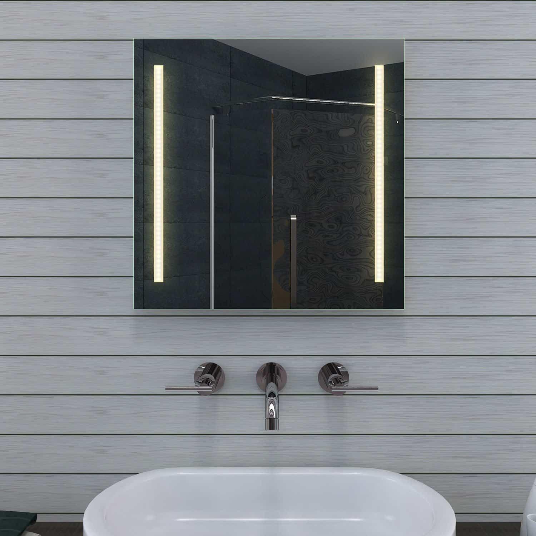 Led badkamer ontwerp verlichting - Spiegel wc ontwerp ...