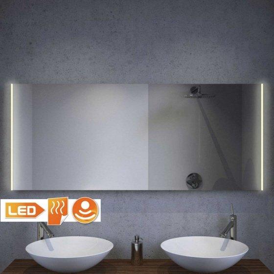 Nieuw model badkamer spiegel met LED verlichting. Zeer stijlvol!