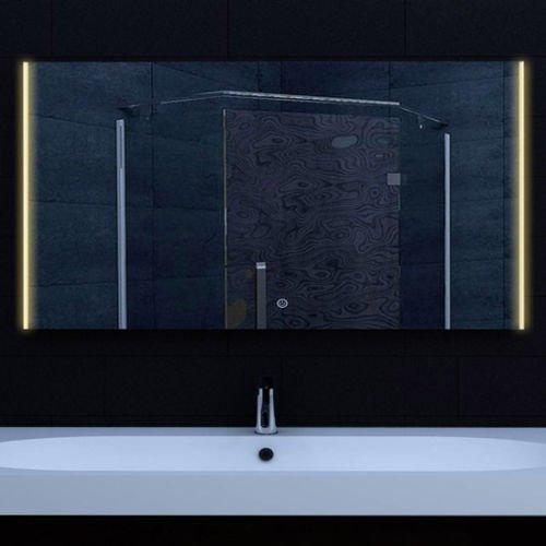 LED spiegel met instelbare lichtkleur en touch knop 120 cm