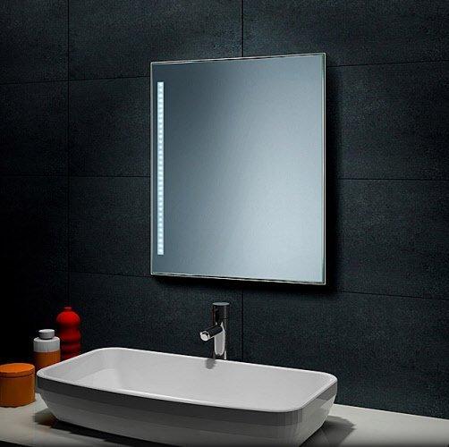 Badkamer spiegel met led verlichting 40x60/ 60x40 cm cm