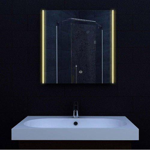 Design LED spiegel met instelbare lichtkleur 60x62 cm