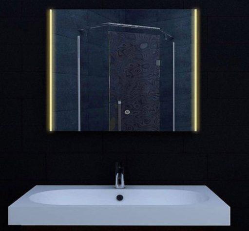 LED spiegel met instelbare lichtkleur 80x62 cm