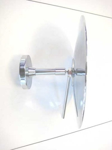 Ronde scheerspiegel make-up spiegel, 20 cm, 3x vergrotend