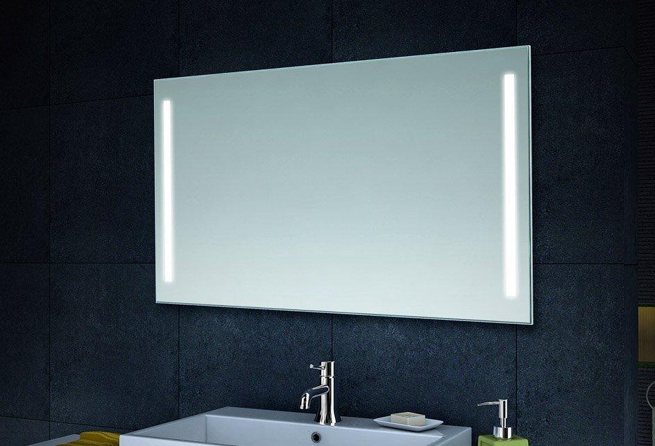 badkamer verlichting op spiegel badkamer. Black Bedroom Furniture Sets. Home Design Ideas