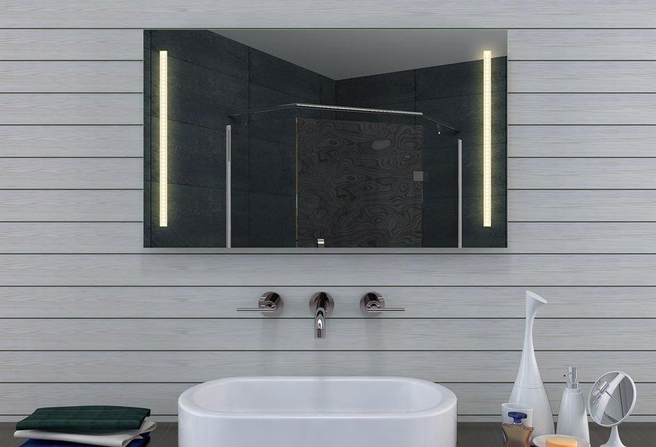 Voordelige 100 cm spiegel met instelbare lichtkleur