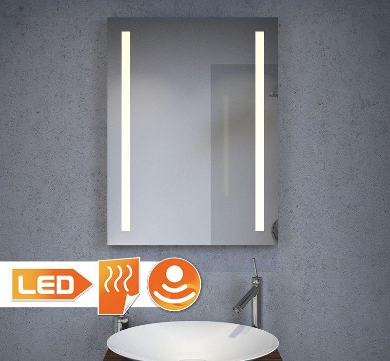 60 cm badkamerspiegel met verwarming