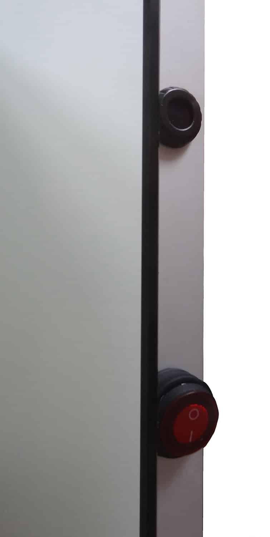 verwarmde badkamer led spiegel met sensor 60x80 cm designspiegels. Black Bedroom Furniture Sets. Home Design Ideas