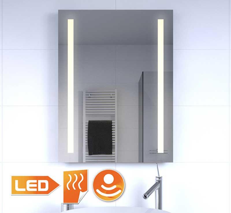 verwarmde spiegels gratis levering. Black Bedroom Furniture Sets. Home Design Ideas