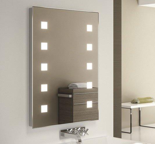 50x70 cm badkamerspiegel met verlichting