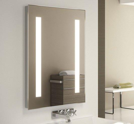 50 x 70 cm led spiegel met sensor schakeling
