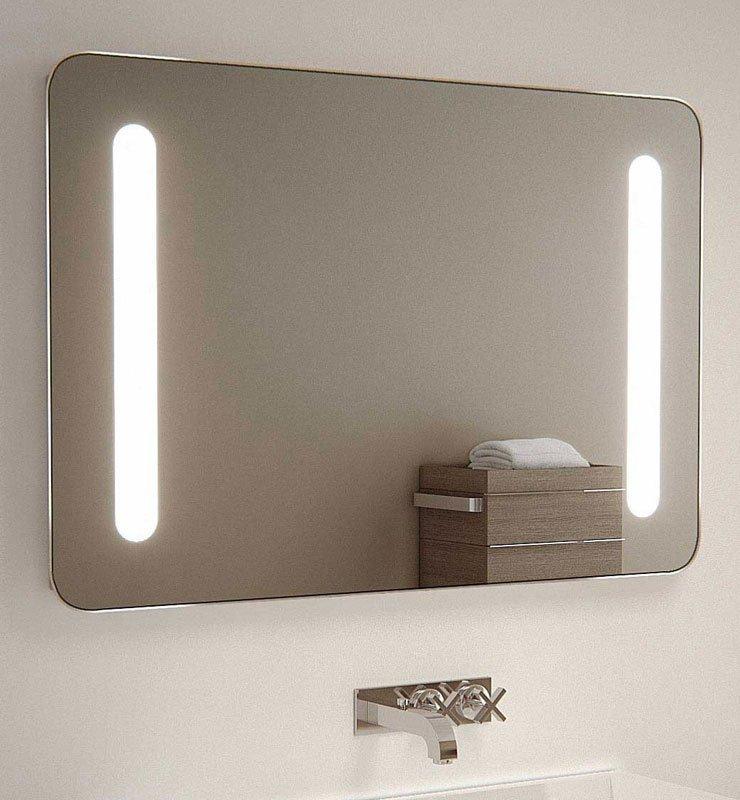 90 cm led spiegel met stopcontact