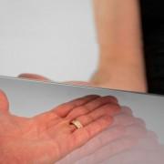 90 cm badkamerspiegel met handige sensor schakelaar