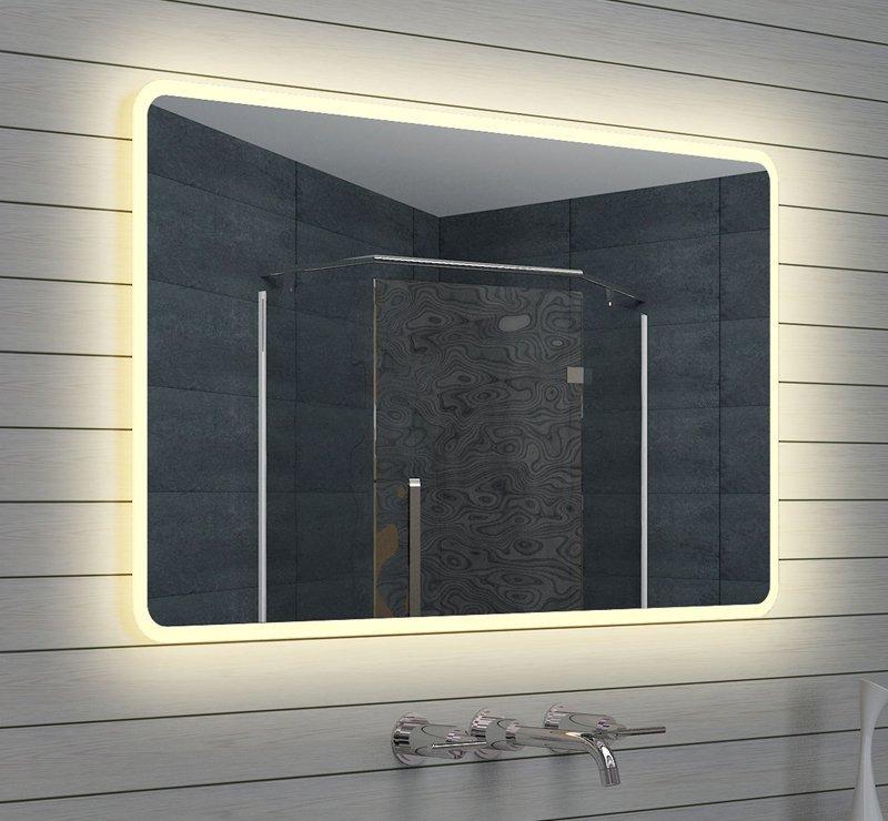120 cm designspiegel met LED licht