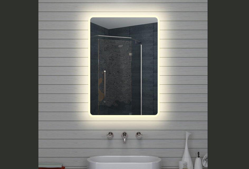 Led Spiegel. Amazing Anten W Miroir Led Lampe De Miroir Cm Miroir ...
