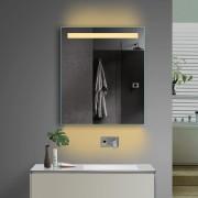 Badkamerspiegel met stopcontact 60 cm