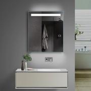 Unieke spiegel met instelbare lichtkleur, wit of warmwit