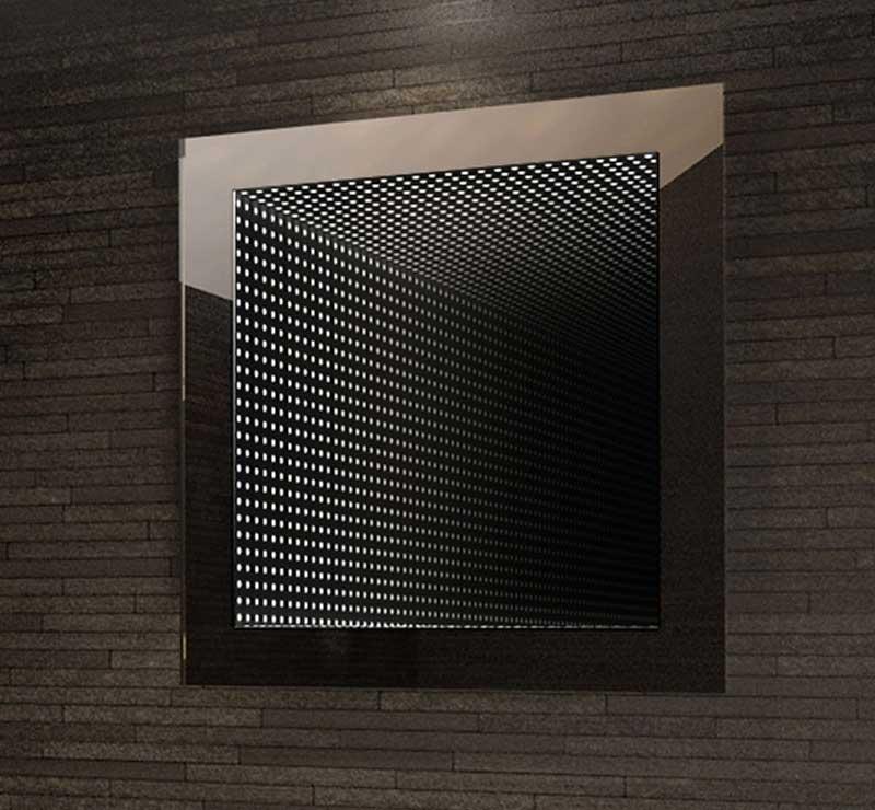 Infinity spiegel 60x60 cm