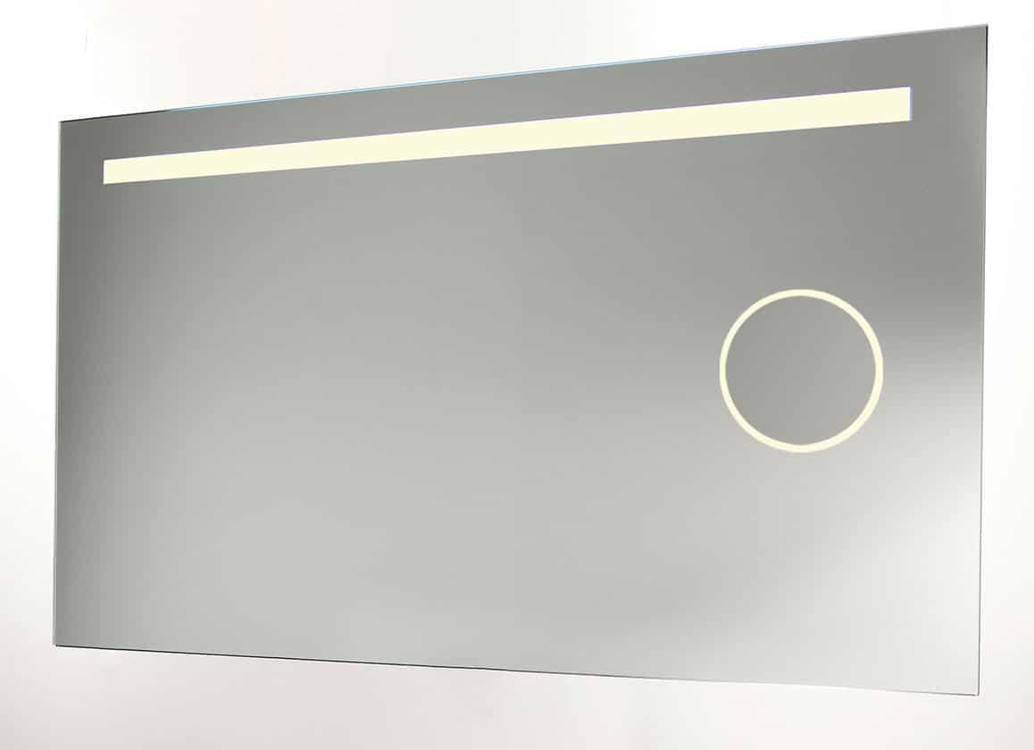Verlichting Spiegel Badkamer : Badkamerspiegel met scheerspiegel verlichting en