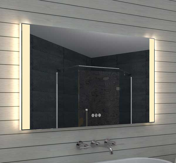 120 cm led spiegel met zowel praktische als sfeervolle verlichting