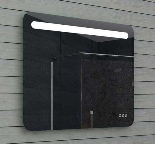 80 cm spiegel met verlichting en 3 handige touch knoppen
