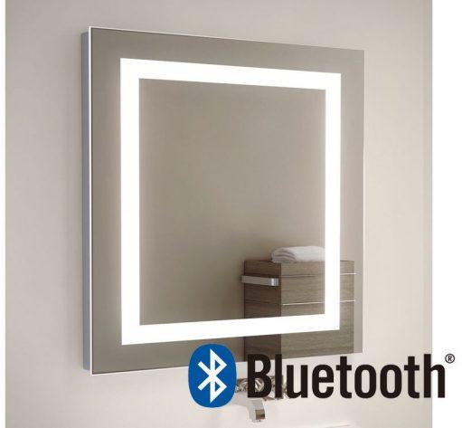Bluetooth muziek spiegel met 2x 50W speakers (onzichtbaar achter de spiegel)