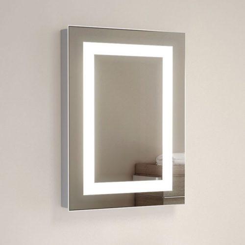 Spiegel Für Toilette. smalle toilet spiegel met led verlichting ...
