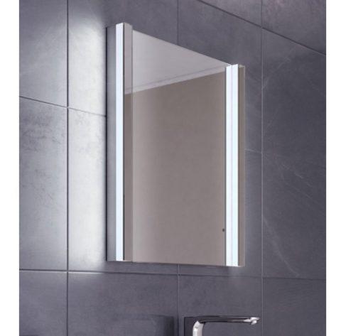Fraaie design spiegel met verlichting en verwarming