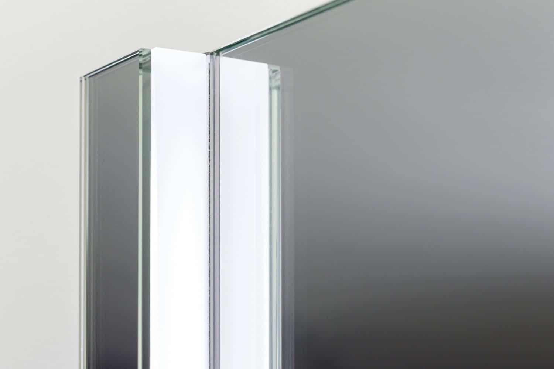 vierkanten badkamer of toilet spiegel met designer. Black Bedroom Furniture Sets. Home Design Ideas