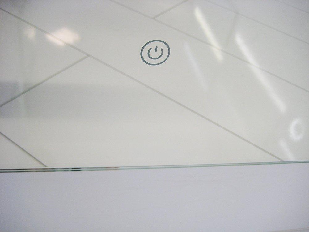 stijlvolle badkamer spiegel met verlichting. Black Bedroom Furniture Sets. Home Design Ideas