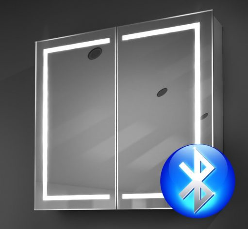 Aluminium badkamer spiegelkast met hoge lichtopbrengst