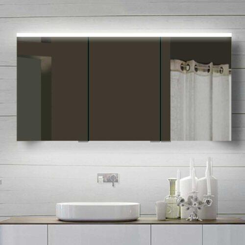 Design badkamer spiegelkast van 140x70 cm